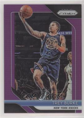 2018-19 Panini Prizm - [Base] - Purple Prizm #287 - Trey Burke /75