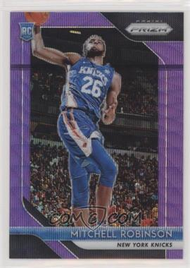 2018-19 Panini Prizm - [Base] - Purple Wave Prizm #227 - Mitchell Robinson