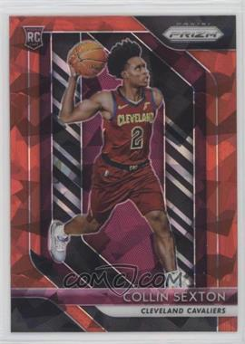 2018-19 Panini Prizm - [Base] - Red Ice Prizm #170 - Collin Sexton
