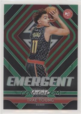 2018-19 Panini Prizm - Emergent - Green Prizm #5 - Trae Young