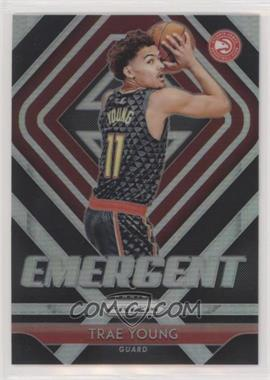2018-19 Panini Prizm - Emergent - Silver Prizm #5 - Trae Young