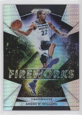 2018-19 Panini Prizm - Fireworks - Hyper Prizm #10 - Andrew Wiggins