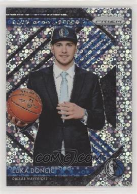 2018-19 Panini Prizm - Luck of the Lottery - Fast Break Prizm #3 - Luka Doncic