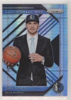 2018-19 Panini Prizm - Luck of the Lottery - Hyper Prizm #3 - Luka Doncic
