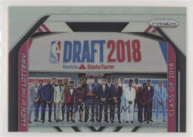 2018-19 Panini Prizm - Luck of the Lottery - Silver Prizm #15 - Aaron Holiday, Chandler Hutchison, Collin Sexton, Deandre Ayton, Donte DiVincenzo, Jaren Jackson Jr., Jerome Robinson, Kevin Knox, Lonnie Walker IV, Luka Doncic, Marvin Bagley III, Michael Porter Jr., Mikal Bridges, Miles Bridges, Mo Bamba, Shai Gilgeous-