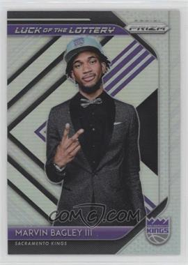 2018-19 Panini Prizm - Luck of the Lottery - Silver Prizm #2 - Marvin Bagley III