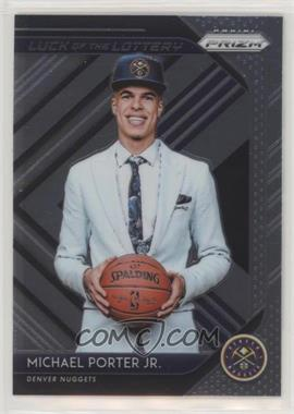 2018-19 Panini Prizm - Luck of the Lottery #14 - Michael Porter Jr.