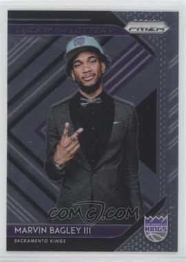 2018-19 Panini Prizm - Luck of the Lottery #2 - Marvin Bagley III