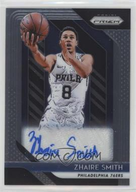 2018-19 Panini Prizm - Rookie Signatures #RS-ZSM - Zhaire Smith