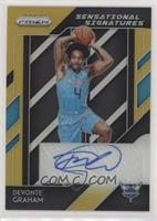 Devonte' Graham #/10