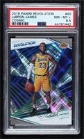 LeBron James [PSA 8.5 NM‑MT+] #/100