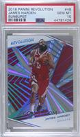 James Harden [PSA 10 GEM MT] #/75