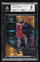 Courtside - Ben Simmons [BGS 9 MINT] #/13