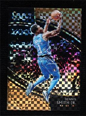 2018-19 Panini Select - [Base] - Copper Prizm #295 - Courtside - Dennis Smith Jr. /60