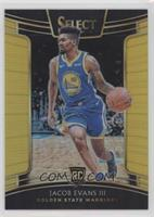 Concourse - Jacob Evans III #/10