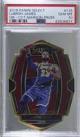 Premier Level Die-Cut - LeBron James [PSA 10 GEM MT] #/175
