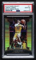 Concourse - LeBron James [PSA 10 GEM MT] #/75