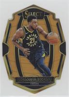 Premier Level Die-Cut - Thaddeus Young #/65