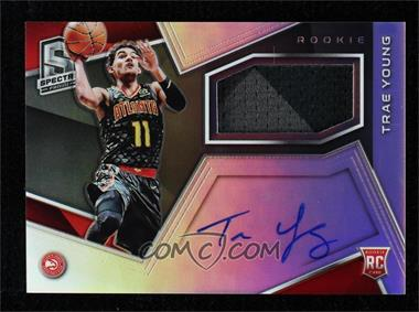 2018-19 Panini Spectra - [Base] #104 - Rookie Jersey Autographs - Trae Young /299 [MintorBetter]