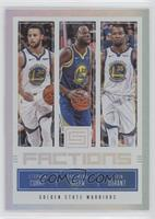 Draymond Green, Kevin Durant, Stephen Curry