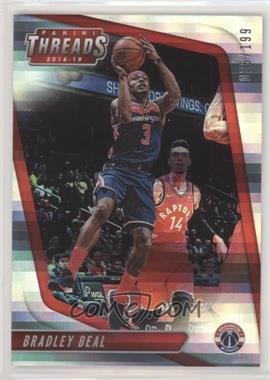 2018-19 Panini Threads - [Base] - Premium #99 - Bradley Beal /199