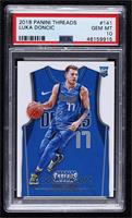 Rookies Icon Jersey - Luka Doncic [PSA10GEMMT]