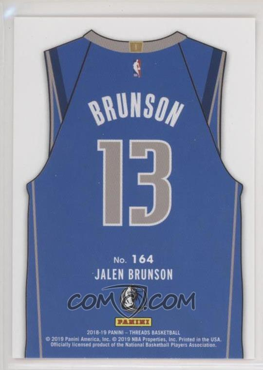 check out 8ccc2 081fc 2018-19 Panini Threads - [Base] #164 - Rookies Icon Jersey ...
