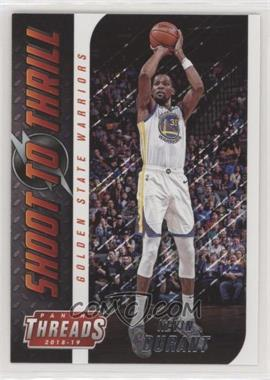 buy online 5735c e4d54 2018-19 Panini Threads - Shoot to Thrill #13 - Kevin Durant