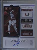 RPS College Playoff Ticket Variation A - Lonnie Walker IV #/23