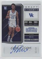 RPS College Ticket Variation B - Shai Gilgeous-Alexander /25