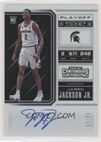 RPS College Playoff Ticket Variation B - Jaren Jackson Jr. /15
