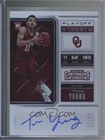 RPS College Playoff Ticket Variation B - Trae Young /15