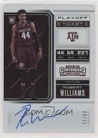 RPS College Playoff Ticket Variation A - Robert Williams III /15