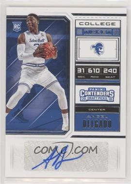 2018 Panini Contenders Draft Picks - [Base] #121 - College Ticket - Angel Delgado
