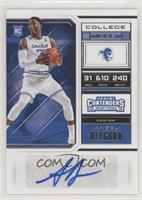 College Ticket - Angel Delgado