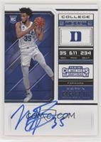 RPS College Ticket Variation C - Marvin Bagley III (Variation C)