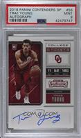 RPS College Ticket - Trae Young [PSA9MINT]