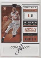 RPS College Ticket Variation B - Lonnie Walker IV