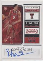 RPS College Ticket - Zhaire Smith (Variation A)