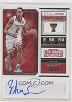 RPS College Ticket - Zhaire Smith