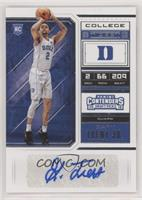 College Ticket - Gary Trent Jr. (Variation)