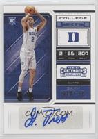College Ticket Variation - Gary Trent Jr.