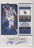 College Ticket - Malik Newman