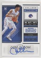 College Ticket - Chandler Hutchison (Variation)