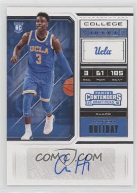 2018 Panini Contenders Draft Picks - [Base] #83 - College Ticket - Aaron Holiday