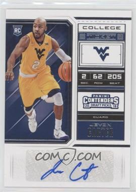 2018 Panini Contenders Draft Picks - [Base] #90 - College Ticket - Jevon Carter