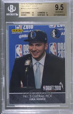 2018 Panini Instant Draft 2018 - [Base] - VIP Party #DN3 - Luka Doncic /25 [BGS9.5GEMMINT]