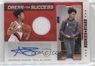 2019-20 Panini Chronicles - Dress For Success - Red #DF-AFS - Anfernee Simons
