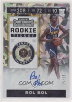 Rookie Ticket - Bol Bol [EX to NM] #/25