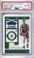 Brook Lopez [PSA 10 GEM MT] #/99